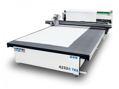 Product, Large-size CNC cutter InfoTEC C TEX NT from company InfoTEC CNC