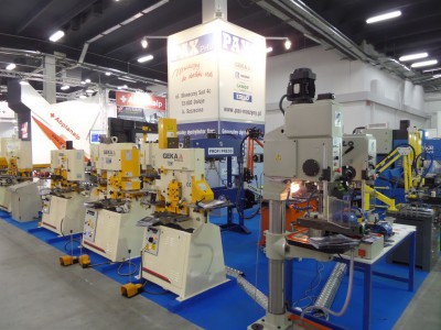 Company stand PAX on trade show STOM-TOOL & STOM-BLECH & STOM-LASER & SPAWALNICTWO & WIRTOPROCESY & CONTROL-TECH & CONTROL-STOM 2014