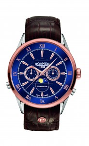 Product, SUPERIOR MOONPHASE from company ROAMER OF SWITZERLAND