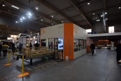 Company stand InfoTEC CNC on trade show DREMA 2020