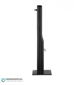Product, Disinfection Station Temperature Measurement Comfort Black from company BAROMEDICAL sp. z o.o.