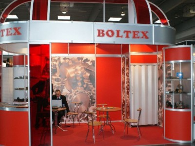 Company stand BOLTEX on trade show DREMA 2011