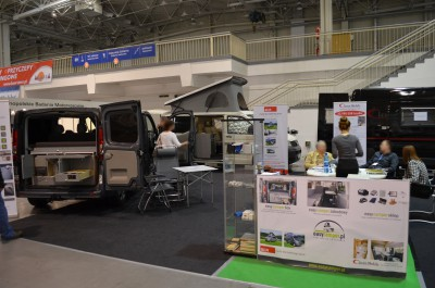 Company stand easycamper.pl on trade show MOTOR SHOW 2014