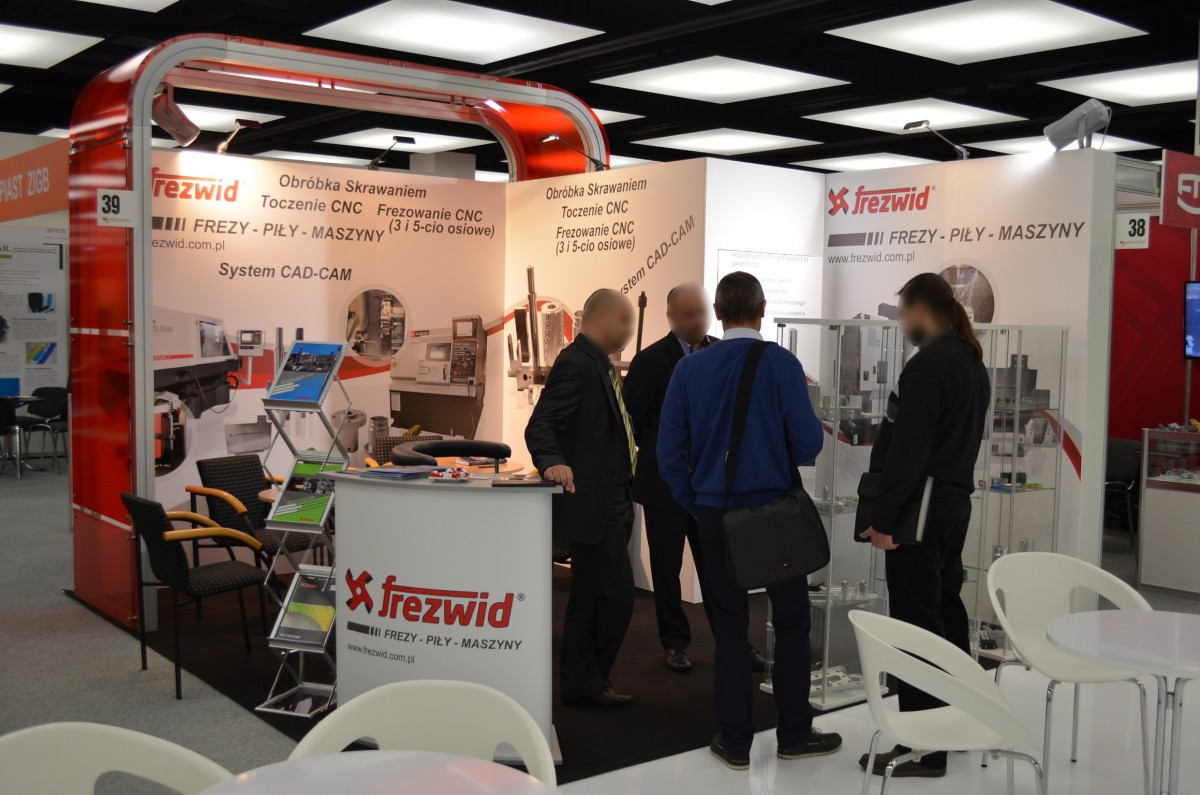 Company stand FREZWID Sp.j. on trade show SUBCONTRACTING 2014