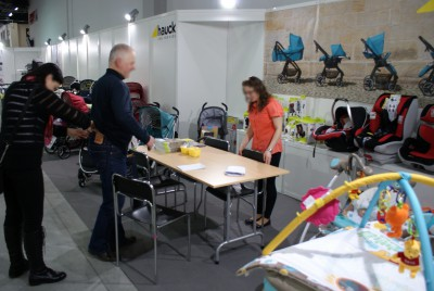 Company stand HAUCK GROUP on trade show KIDS TIME 2014