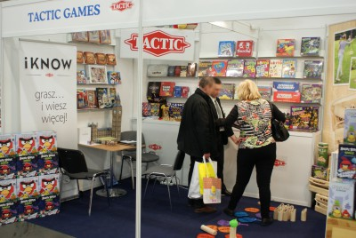 Company stand Tactic Games NELOSTUOTE Sp. z o.o. on trade show KIDS TIME 2014