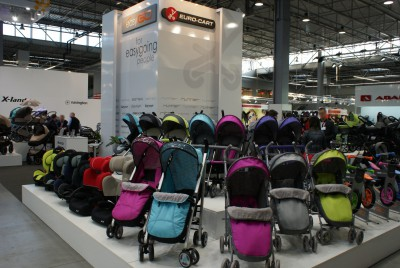 Company stand EURO-CART on trade show KIDS TIME 2014