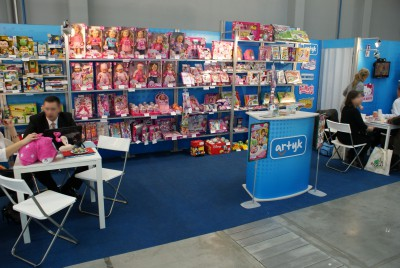 Company stand ARTYK Sp. z o.o. on trade show KIDS TIME 2014