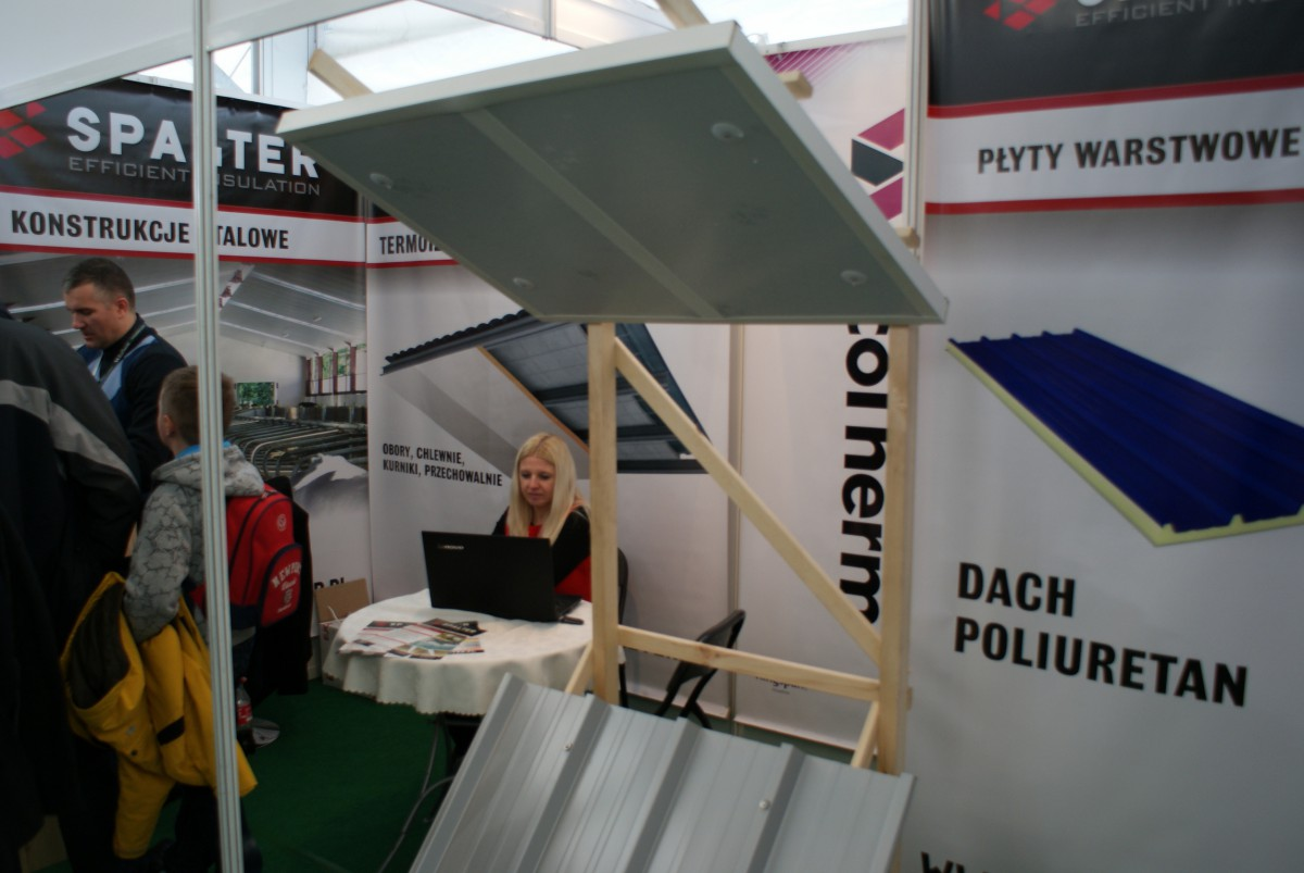 Company stand Spalter on trade show LAS-EXPO & AGROTECH 2014