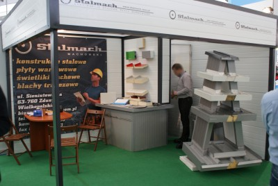 Company stand STALMACH Marek Machowski on trade show LAS-EXPO & AGROTECH 2014