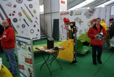 Company stand Agro-Jan s.c. on trade show LAS-EXPO & AGROTECH 2014