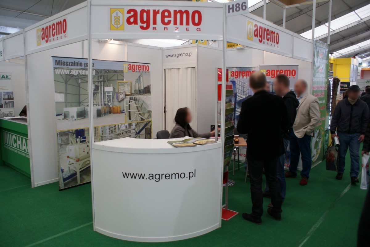 Company stand AGREMO Sp. z o.o. on trade show LAS-EXPO & AGROTECH 2014