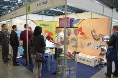Company stand Plastique Sp. z o.o. on trade show PACKAGING INNOVATIONS WARSZAWA 2014