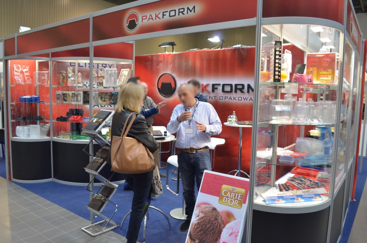 Company stand PAKFORM Sp. z o.o. on trade show PACKAGING INNOVATIONS WARSZAWA 2014