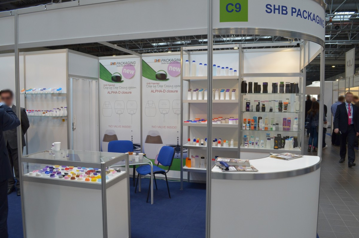 Company stand SHB on trade show PACKAGING INNOVATIONS WARSZAWA 2014