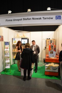 Company stand UNOPOL Stefan Nowak on trade show WORLD FOOD 2014