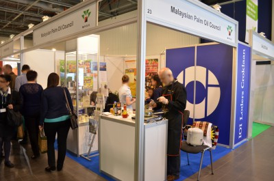 Company stand MALAYSIAN PALM OIL COUNCIL on trade show WORLD FOOD 2014