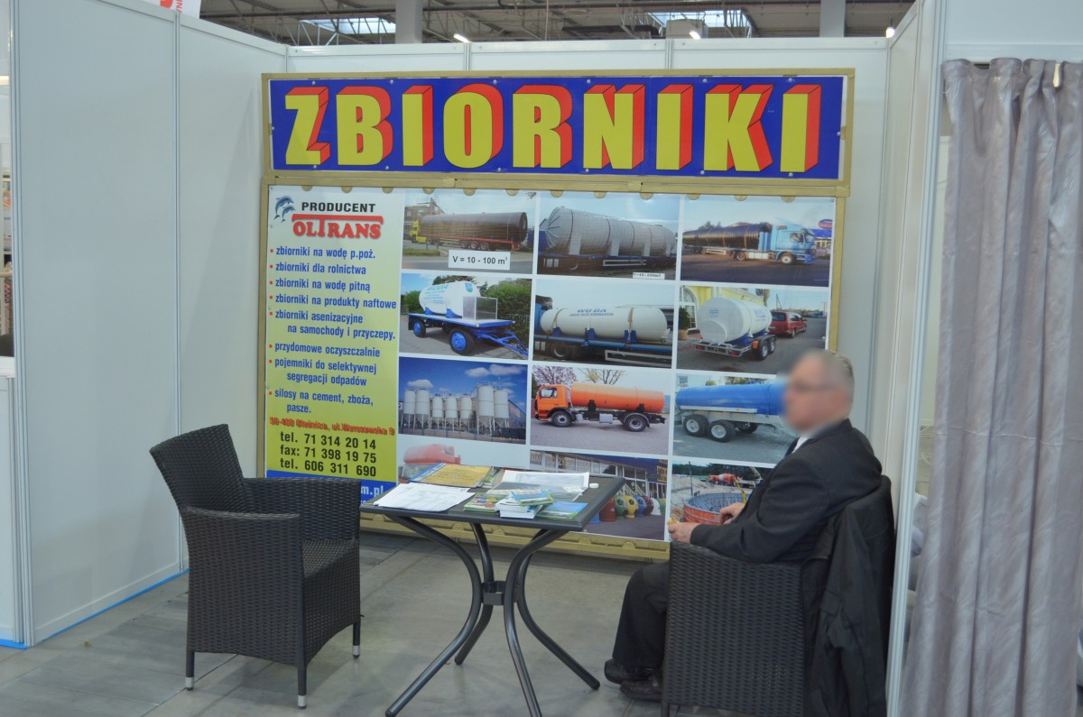 Company stand OLTRANS PPHU on trade show EKOTECH 2014