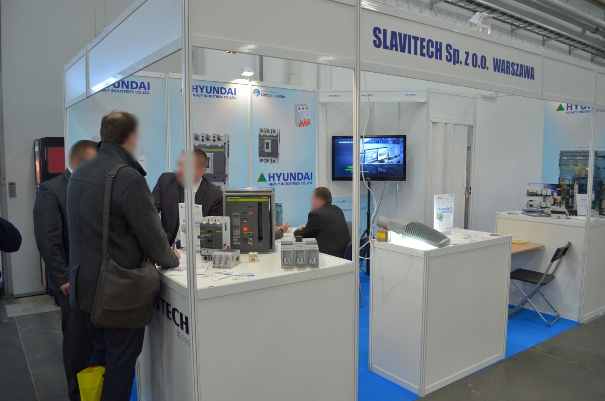 Company stand SLAVITECH Sp. z o.o. on trade show ENEX 2014