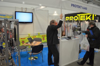 Company stand PROTEKT on trade show ENEX 2014