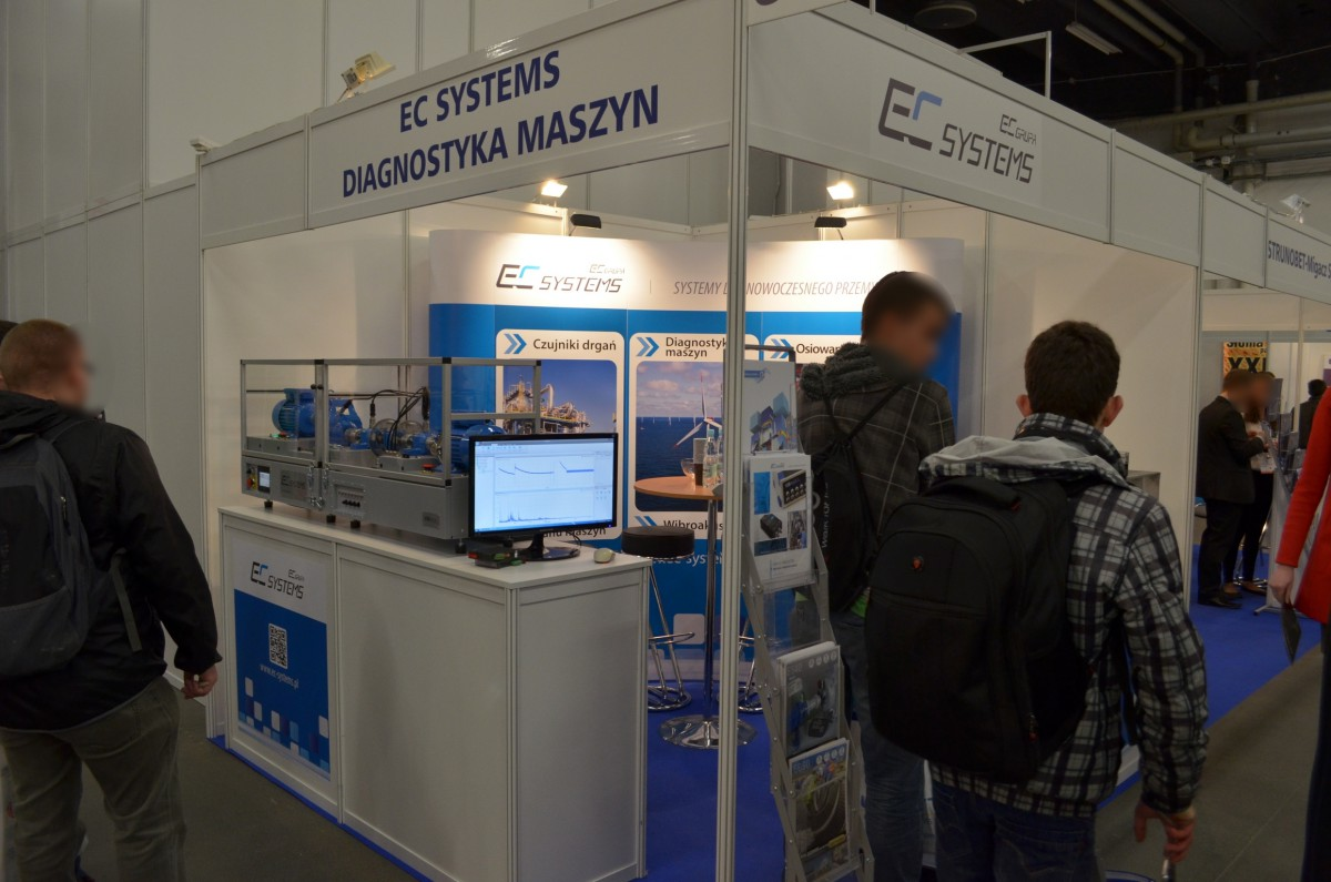 Company stand EC SYSTEMS Sp. z o.o. on trade show ENEX 2014