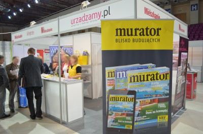 Company stand Murator S.A. on trade show MUREXPO 2014
