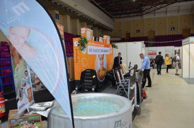 Company stand Pro-Wellness on trade show MUREXPO 2014