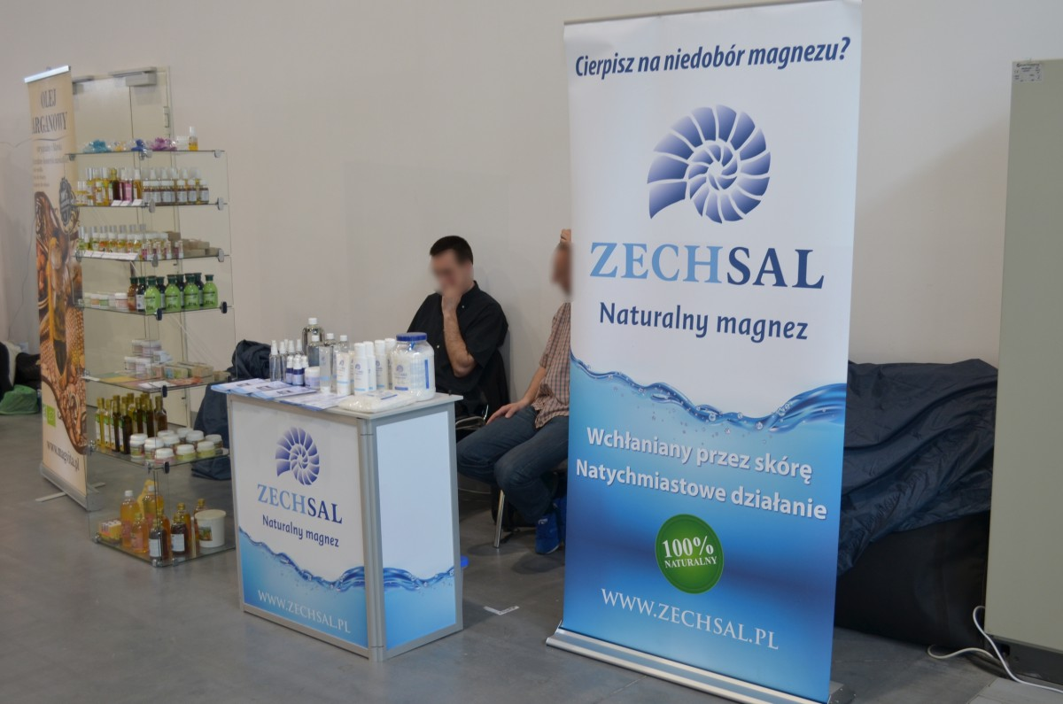Company stand Magvita (ZECHSAL) on trade show beautyVISION 2014