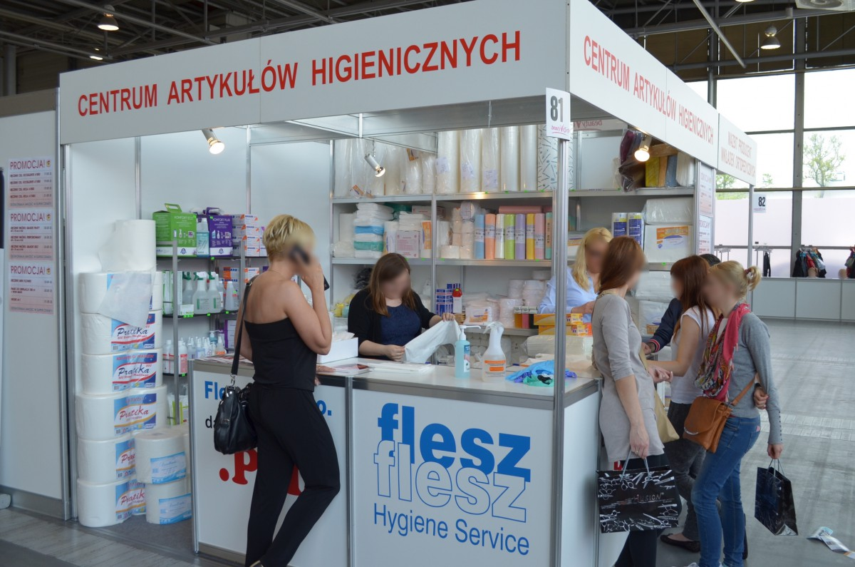 Company stand Flesz Sp. z.o.o. on trade show beautyVISION 2014