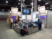 Sir Meccanica on trade show AUTOSTRADA-POLSKA & ROTRA & MASZBUD & TRAFFIC-EXPO 2014