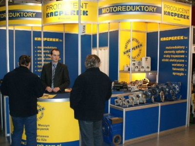 Company stand KACPEREK - Mechanika Maszyn  on trade show DREMA 2011