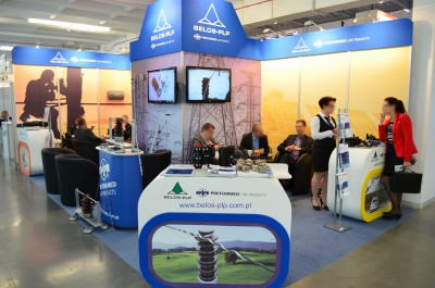 Company stand Belos-plp Sa on trade show EXPOPOWER 2014
