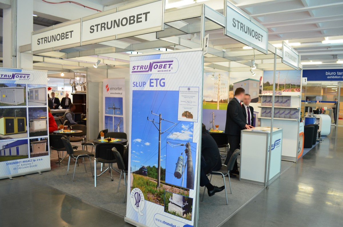 Company stand Strunobet-Migacz Sp. z o.o. on trade show EXPOPOWER 2014