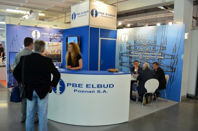 Company stand Pbe Elbud Poznań Sa on trade show EXPOPOWER 2014