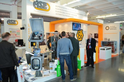 Company stand Automatic Systems Engineering Sp. z o.o. on trade show EXPOPOWER 2014