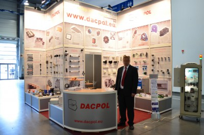 Company stand DACPOL SP. Z O.O. on trade show EXPOPOWER 2014