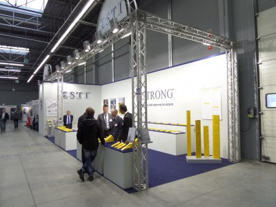 Company stand ESTI on trade show AUTOSTRADA-POLSKA & ROTRA & MASZBUD & TRAFFIC-EXPO 2014