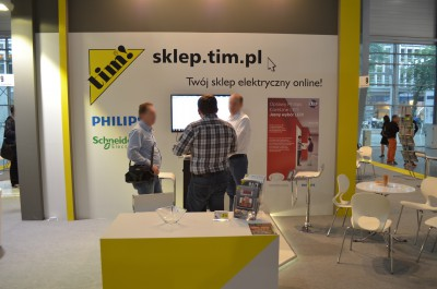Company stand TIM SA on trade show EXPOPOWER 2014