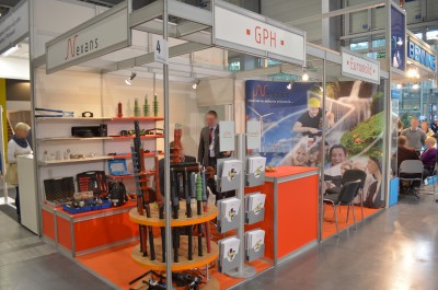 Company stand Nexans Power Accesories Poland Sp. z o.o. on trade show EXPOPOWER 2014