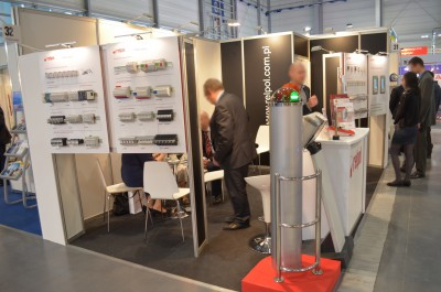 Company stand RELPOL S.A. on trade show EXPOPOWER 2014