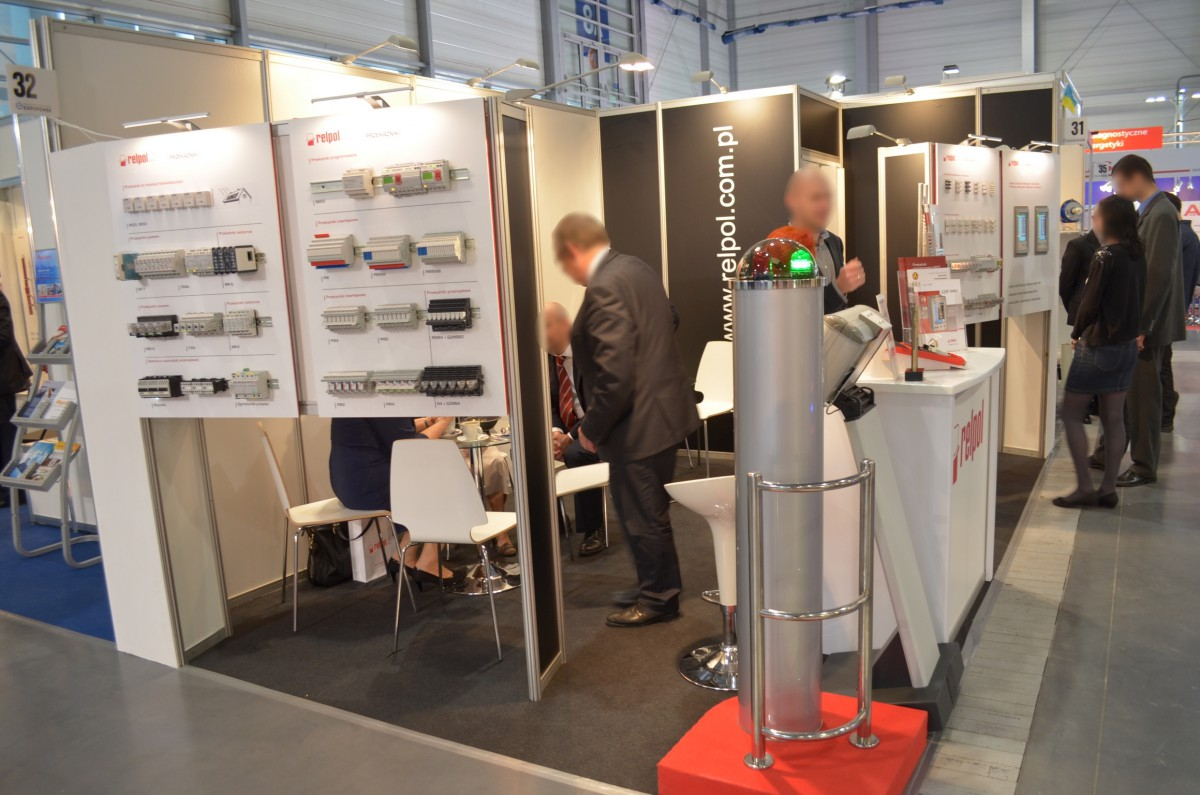 Company stand RELPOL SA on trade show EXPOPOWER 2014