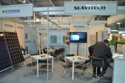 Company stand SLAVITECH Sp. z o.o. on trade show EXPOPOWER 2014