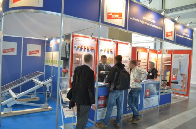 Company stand DEHN POLSKA SP. Z O.O. on trade show GREENPOWER 2014