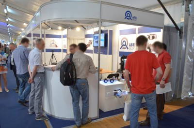 Company stand ABE Complex Technology on trade show WOD-KAN 2014