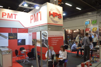 Company stand PMT S.A on trade show PLASTPOL 2014