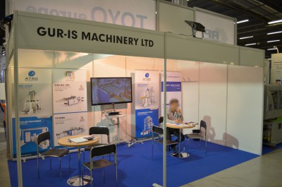 Company stand GUR-IS MAKINA on trade show PLASTPOL 2014