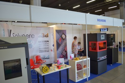 Company stand SOLVEERE SP. Z O.O. on trade show PLASTPOL 2014