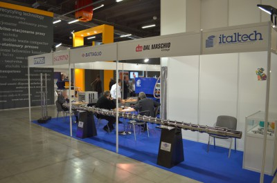 Company stand INPROS S.r.l. on trade show PLASTPOL 2014