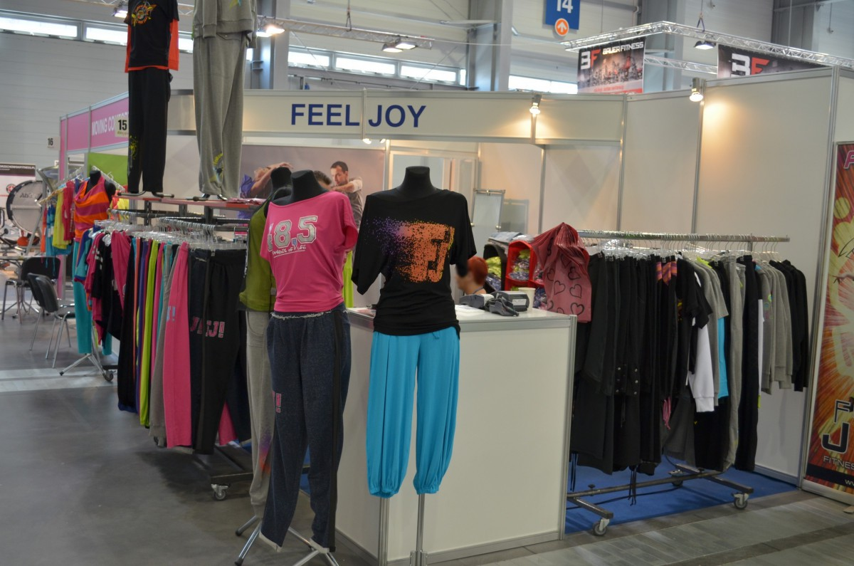 Company stand FEELJ! on trade show FIT-EXPO 2014