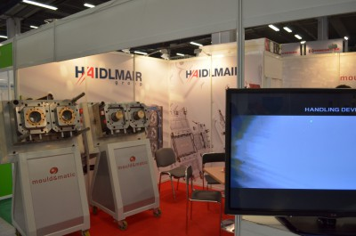 Company stand MOULD&MATIC SOLUTION s.r.o. on trade show PLASTPOL 2014